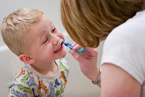 Seu Filho Gosta de Escovar os Dentes?